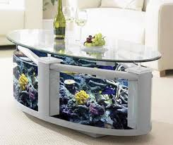 Coffee Table Design Ideas modern coffee table design with aquarium for tropical fish creative interior decorating ideas