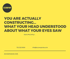 construction quote you are actually constructing what your head understood