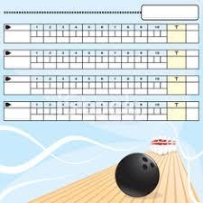 Bowling Score Sheet Stock Photos - Vectorhq.com