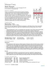 Resume Format For Banking Jobs Resume Format For Banking Jobs Banking Resume Example Curriculum