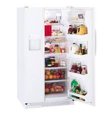 ge® 21 9 cu ft side by side refrigerator dispenser and product image product image
