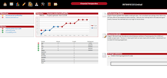 Scorecard Templates Excel Balanced Scorecard Spreadsheet Intrafocus