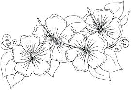 Pictures Of Flowers To Print And Color Flower Print Out Coloring
