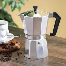 Instant coffee vs turkish coffee. 9 Cup Demitasse Shot Aluminum Stovetop Espresso Maker Grey Walmart Com Walmart Com