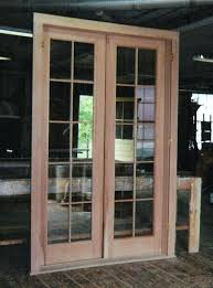 single glass exterior door double french exterior door unit using double pane insulated glass with simulated single glass exterior door
