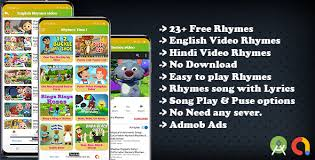 free kids nursery rhymes song