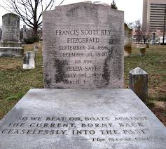 fitzgerald s use of diction in the great gatsby writework the grave of f scott fitzgerald and zelda fitzgerald in st mary s catholic cemetery