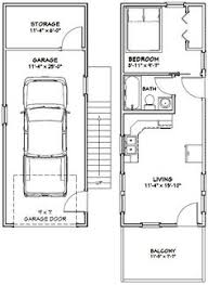 Small Picture 14x30 Tiny House 14X30H1A 419 sq ft Excellent Floor Plans