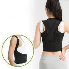 Shop Men Women Adjustable Posture Corrector Lumbar Support Belt Shoulder Back Brace - Free Shipping On Orders Over $45 Overstock.com 22814890