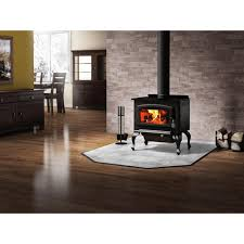 drolet columbia 26 in 1600 sq ft epa certified wood burning stove