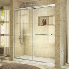 dreamline charisma 56 in to 60 in x 76 in frameless sliding shower