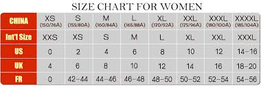 Us Size Chart To China Size Chart _wholesale Clothing Online From China Cheap