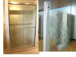 frosted shower glass frosted glass shower doors alluring frosted glass shower enclosure and glass shower door