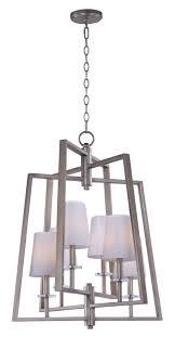 swing swing 6 light chandelier
