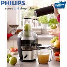 Máy ép trái cây cao cấp Philips HR1863 (Đen) - Hàng nhập khẩu