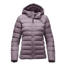 the north face stretch down jacket women s rabbit grey