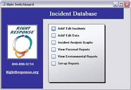 Restraint Assessment Right Response Incident Tracking Database
