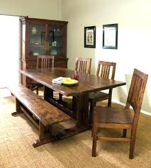 table with bench seat dining table bench kitchen with elegant benches seat plans cushions dining table