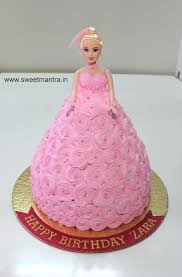 1st Birthday Cake Designs For Baby Girl In India Floral First
