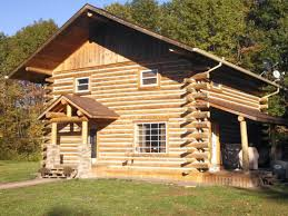 student built home not a log cabin kit