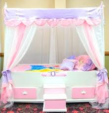 Girl Canopy Bedroom Sets Kids Canopy Bed Sets White Bed With Canopy ...