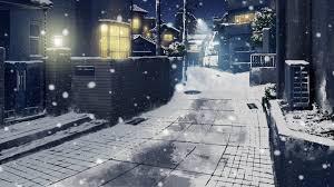 Snow Night City Japan Wallpapers Hd Desktop And Snow