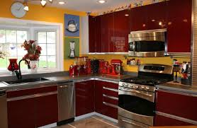 Yellow And Red Kitchen Design620400 Red And Green Kitchen Red And Green Kitchen