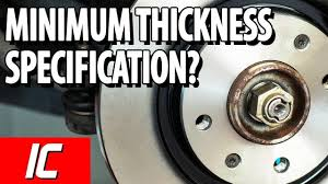 Minimum Rotor Thickness Chart Toyota Tacoma Everything To Know About Rotor Thickness Car From Japan