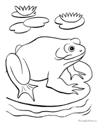frog pictures to print. Brilliant Frog Great Frog Pictures To Print Coloring Throughout M