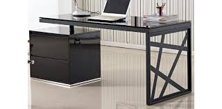 unique home office furniture. Exellent Unique Black Contemporary Office Furniture Aria Modern European In Desk Plans 11 Throughout Unique Home A