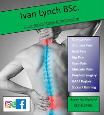 Ivan Lynch Injury, Rehab & Performance, Park Avenue, Gorey, Wexford (2020)