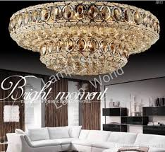 Image Lighting Home Depot Hot Sales Beautiful Design Crystal Ceiling Chandelier Living Room Lamp Large Modern Light luxury Dhgate Hot Sales Beautiful Design Crystal Ceiling Chandelier Living Room