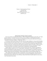 gideon v wainwright essay project wainwright 6 gideon