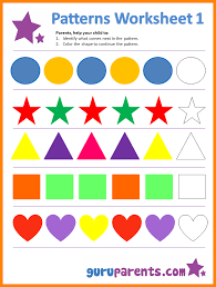 Patterns For Preschool Unique Preschool Worksheets On Patterns 48 Myscres