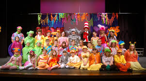 Seuss characters spring to life onstage in seussical jr. Pin On Drama
