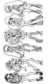 Kids N Funde Malvorlage Monster High Monster High Girls