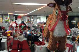 christmas themes for the office. Christmas Decorations Office Worst News Queen Bee Blog Door Decorating Themes . For The H