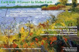 jazz storytelling art and come together in a creative celebration affirming humanity s global partnership as caretakers of the earth