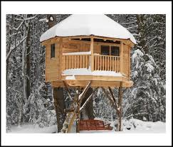 Tree house designs Hanging Square Tree House Plans Homedit Tree House Plans Design
