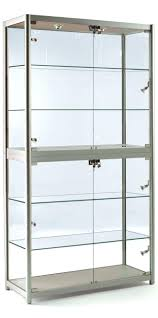 Full Size Of Large Medium Glass Cabinet Door  Curio Wall For Sale19