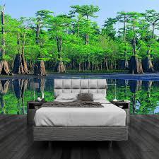 3d Kamer Behang Custom Muurschildering Non Woven Hd Groene Natuur