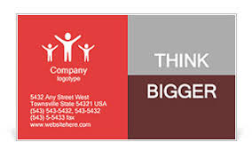 3d people man person and a open door businessman wele business card template