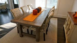 Chair Stylish Farmhouse Dining Tables Airily Romantic Or Casual - Rustic farmhouse dining room tables