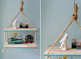 view in gallery stylish diy hanging rope