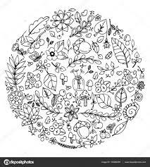 25 Bladeren Herfst Volwassenen Kleurplaat Mandala Kleurplaat Voor