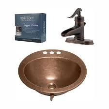 copper bathroom sink