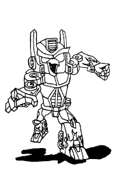 Angry Birds Transformers Coloring Pages