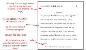 Abstract Format APA Formatting Rules For Your Paper 14
