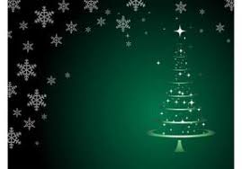 ... Christmas Tree Background Vector  Free ...