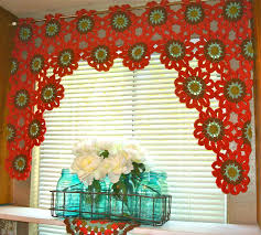 Window Valance Patterns Extraordinary Once Upon A Pink Moon Flower Power Valance Tutorial